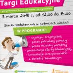 Wspieramy IV Koźmickie Targi Edukacyjne
